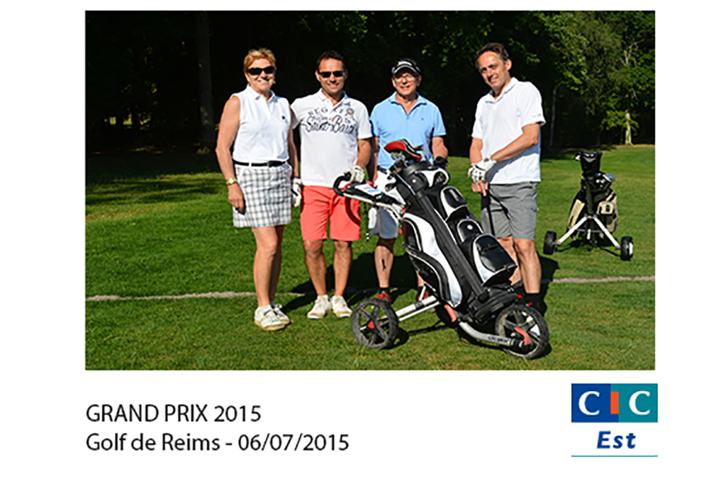 Grand prix 2015 de CIC à Golf de Gueux