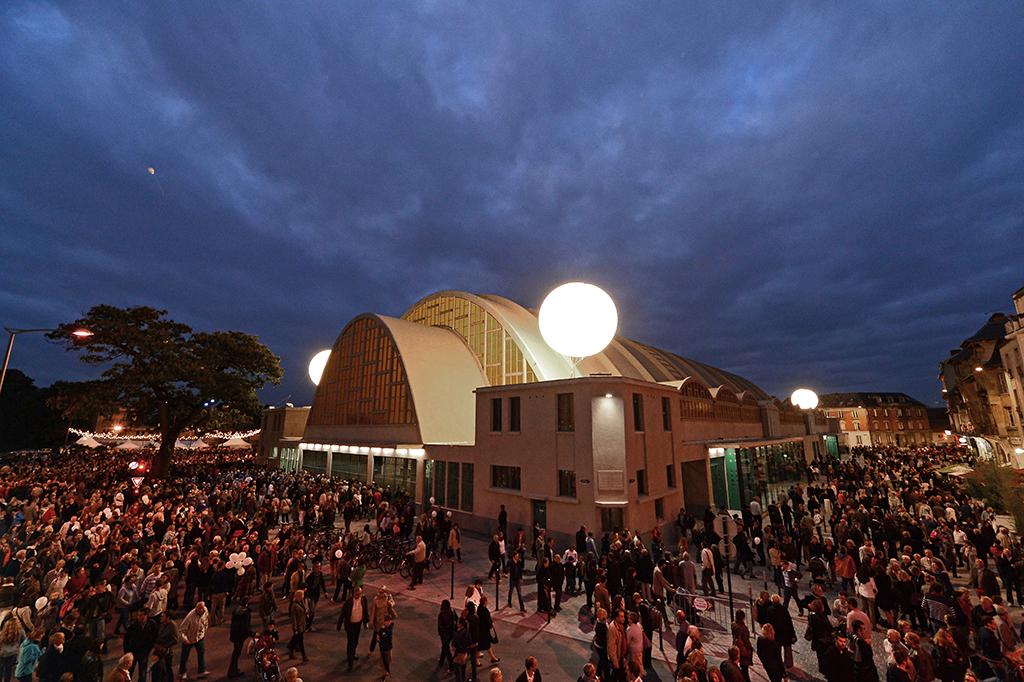 Inauguration des Halles Boulingrin après la restauration
